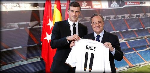 Maillot Gareth Bale au Real
