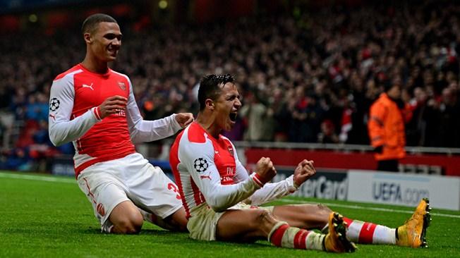 C1 : Arsenal valide son ticket pour les huitièmes