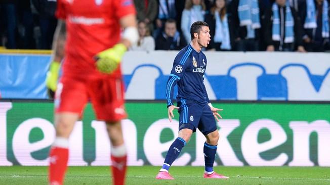 C. Ronaldo égale le record de Raul au Real