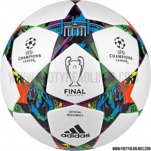 Adidas Finale Berlin 2015 Champions League Ballon