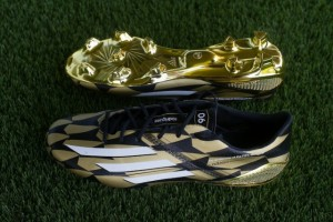 Adidas James Rodriguez Golden crampons