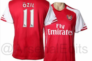 Arsenal maillot 2014-2015