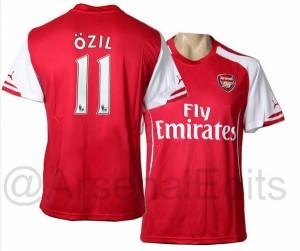 Arsenal maillot 2014-2015
