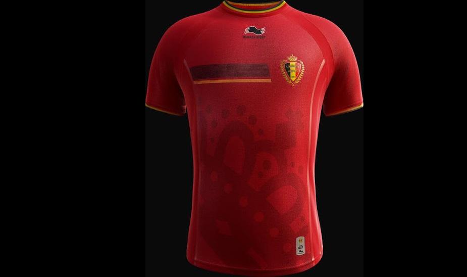 Diables rouges de la belgique le maillot de la coupe du - Maillot allemagne coupe du monde 2014 ...