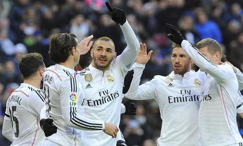 Le Real de Madrid explose la Real Sociedad