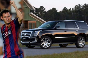 Cadillac Escalade messi