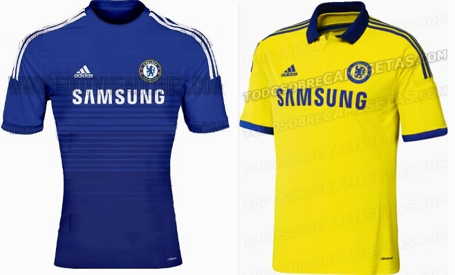 Chelsea maillot 2014-2015