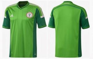 Nigeria maillot 2014 coupe monde