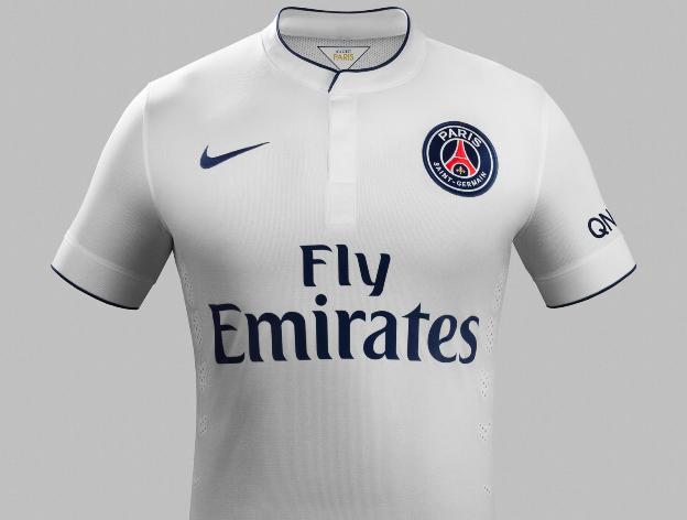Les maillots 2014 2015 du paris saint germain yes we foot for Maillot exterieur psg