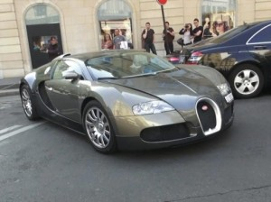 Samuel Etoo Bugatti Veyron