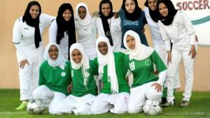 Arabie Saoudite footballeuses voilée