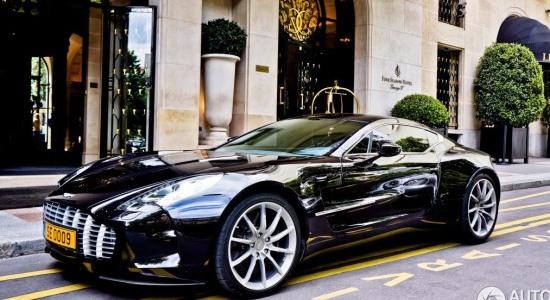 Aston Martin One-77 de Samuel Eto'o