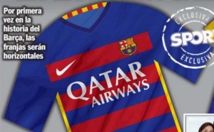 barcelone maillot 2015 2016