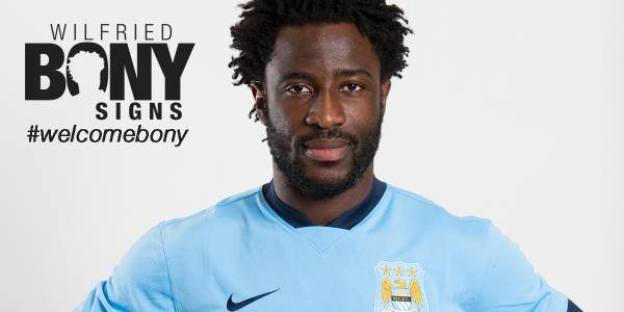 Man City : Wilfried Bony s'est engagé!