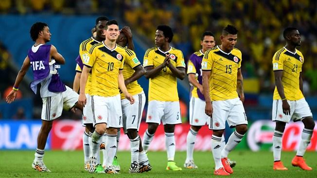 colombie equipe 2014