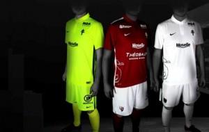 FC METZ : NOUVEAUX MAILLOTS 2015/2016