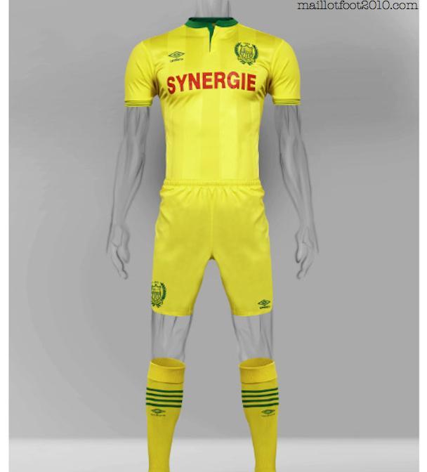 maillot 2015-2016 FC Nantes