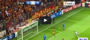galatasaray rea madrid video