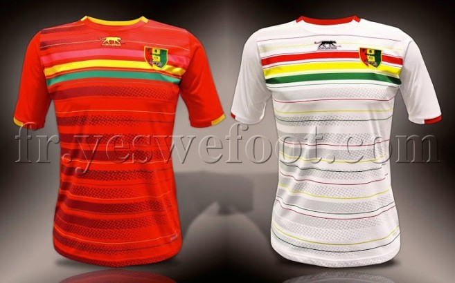 guinee maillot 2015