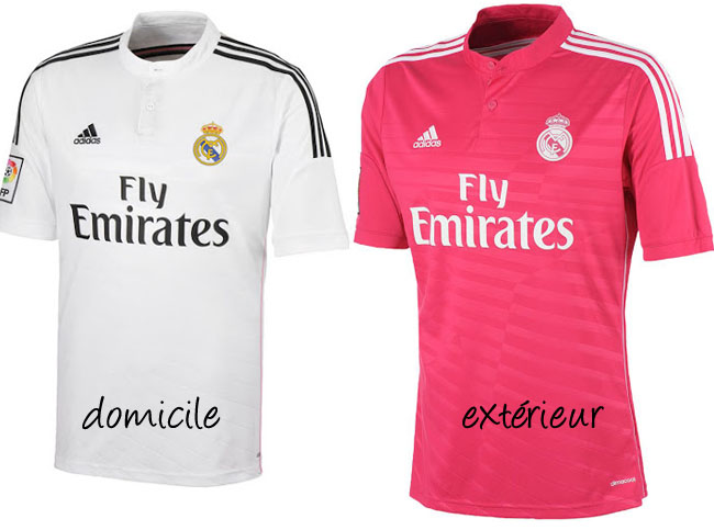 les nouveaux maillots 2014 2015 du real madrid yes we foot. Black Bedroom Furniture Sets. Home Design Ideas