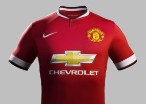 maillot Manchester United 2014-2015