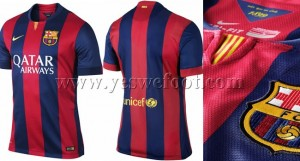 maillot barcelone 2014-2015