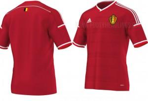 maillot belgique 2015