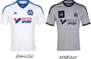 maillot marseille 2014-2015