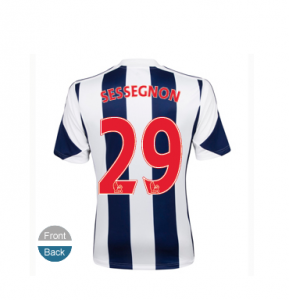 maillot sessegnon West Bromwich Albion