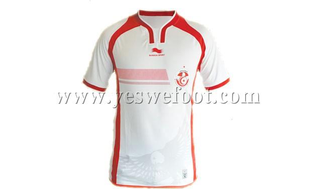 maillot tunisie 2014-2015