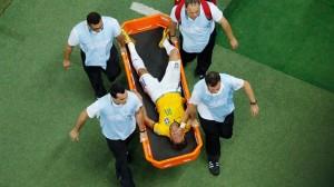 neymar blesse