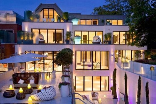 Özil  maison à Londres