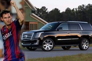 Cadillac Escalade messi