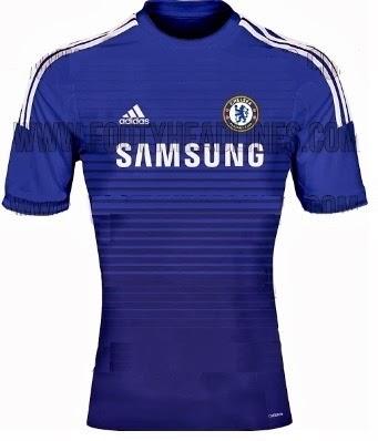 Chelsea maillot 2015 domicile