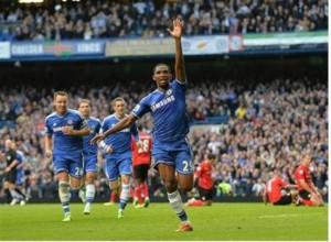 Eto'o but Chelsea