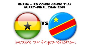 Ghana RD Congo en direct