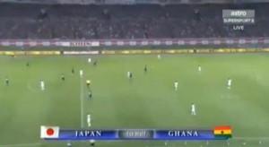 Résumé match Ghana Japon