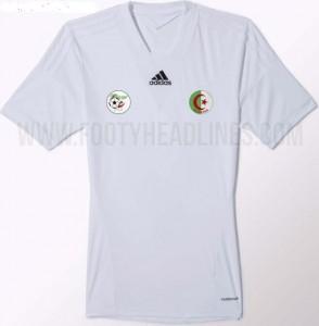 maillot adidas algerie 2015