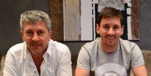 Messi et son père