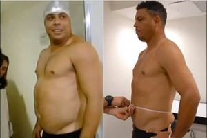 ronaldo poids