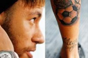 tattoo mollet neymar