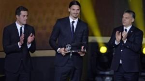 Prix Puskas 2013 du plus beau but de l'année à Ibrahimovic